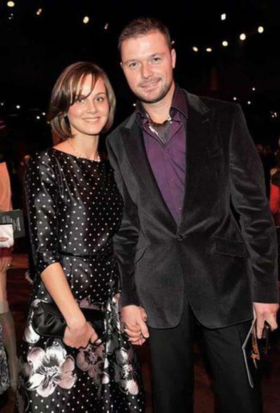 Илья Носков с женой Полиной