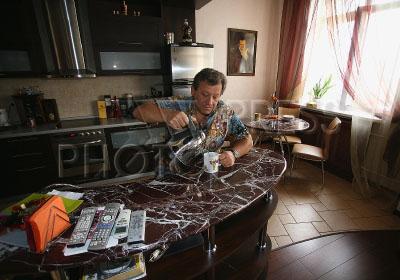 Борис Грачевский в своём доме
