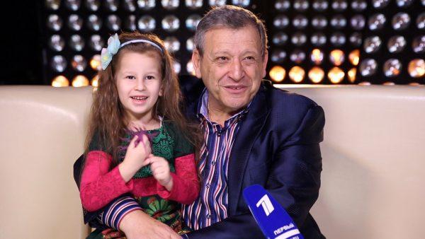 Борис Грачевский с дочкой Василисой.
