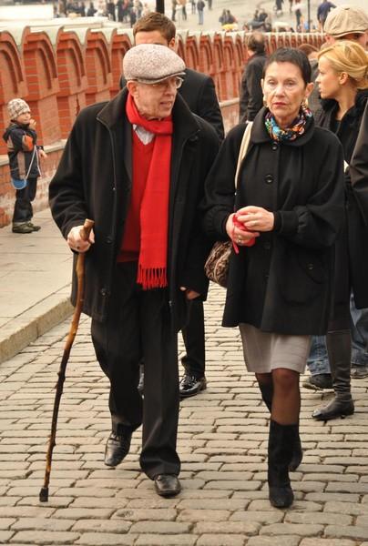 Валерий Золотухин с супругой