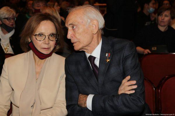 Василий Лановой и Татьяна Купченко