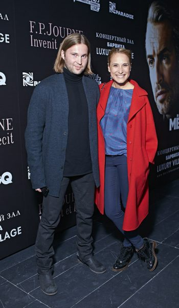 Мария Кравцова с мужем