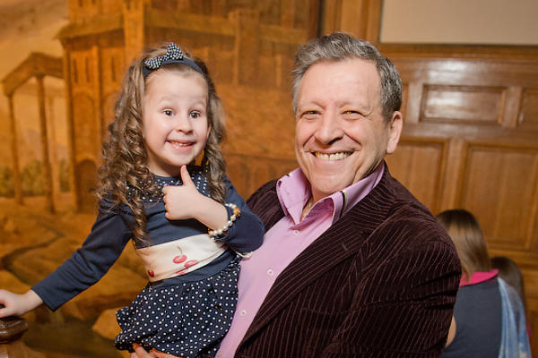 Борис Грачевский с дочерью Василисой.