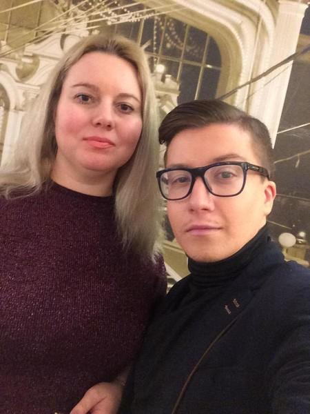 Светлана Адрианова с преданным другом Сергеем Дворцовым