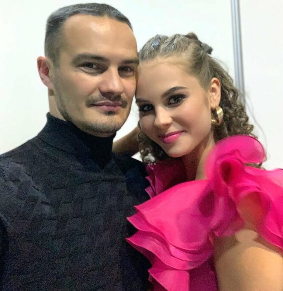 Кстати, Даша счастлива с мужем Алексеем