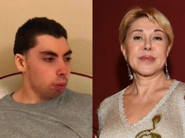 Любовь Успенская и её племянник Ролан.