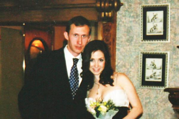 Анна со вторым мужем Сашей Макаренко