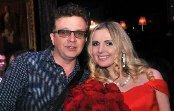 Роман Жуков с экс-женой Еленой