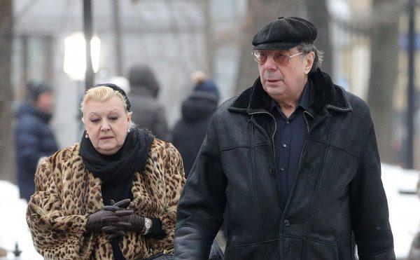 Наталья Дрожжина и Михаил Цивин,