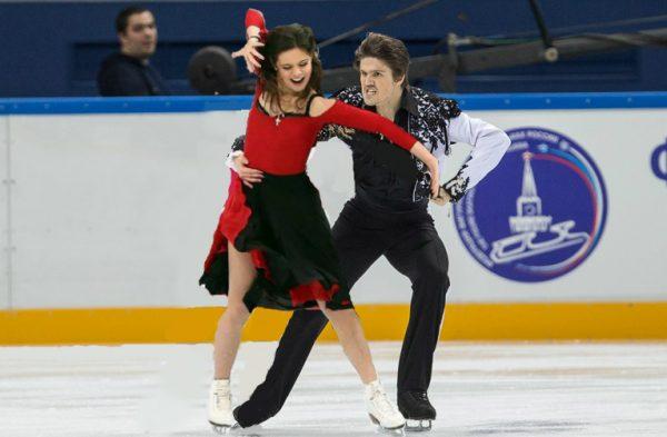 Иван Букин и Елена Ильиных