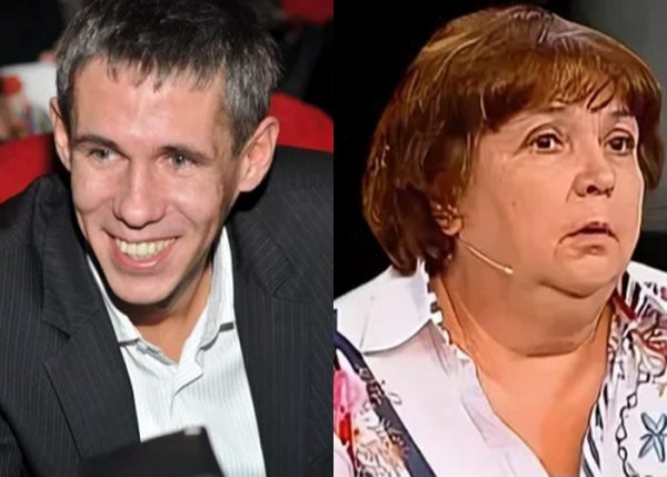 Алексей Панин и его мама