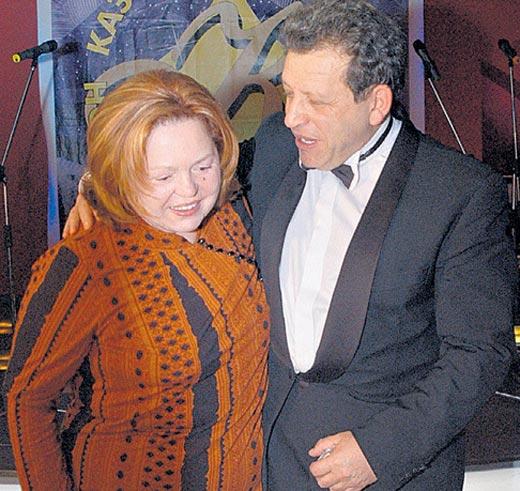 Борис Грачевский с первой женой Галиной