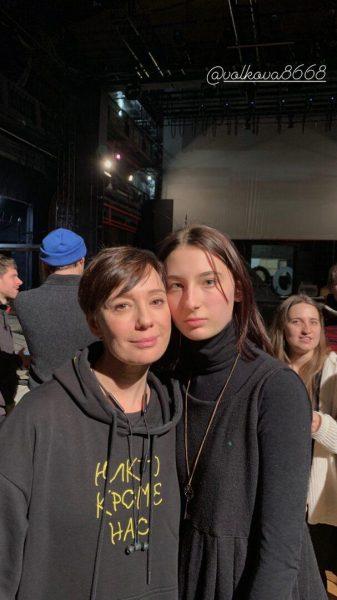 Чулпан Хаматова с Ариной