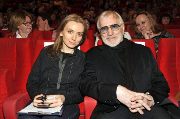 Виктор Мережко с дочерью Марией