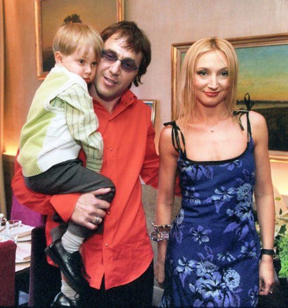 Семья Орбакайте и Байсарова.