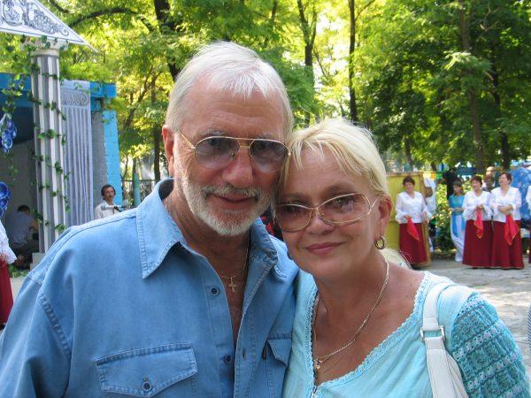 Виктор Мережко с женой Тамарой