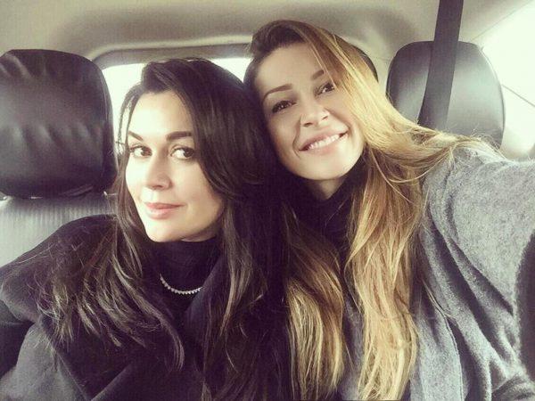 Анастасия Заворотнюк с дочкой Анной