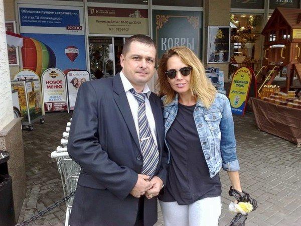 Жанна Фриске и Илья Мительман