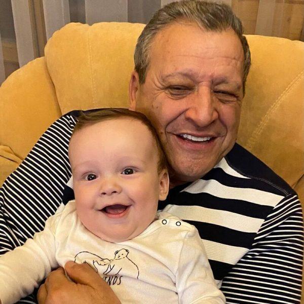 Борис Грачевский с сыном Филиппом