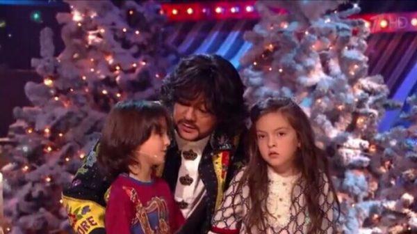 Киркоров с детьми на «Угадай мелодию»