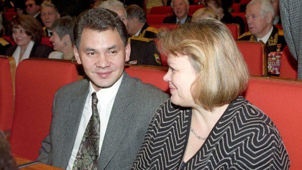 Сергей Шойгу с женой