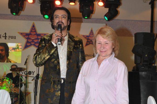 Филипп Киркоров с домработницей Люсей