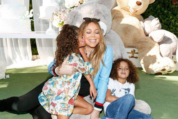 Мэрайя Кэрри с детьми
