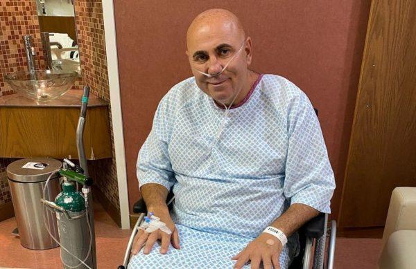 Иосиф Пригожин в больнице