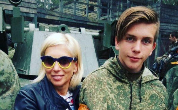 Алена Свиридова с младшим сыном