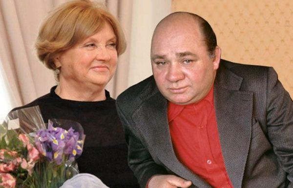 Ванда Стойлова и Евгений Леонов