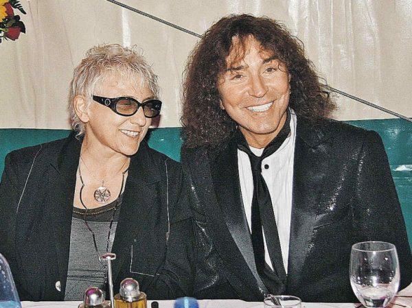 Валерий Леонтьев с женой