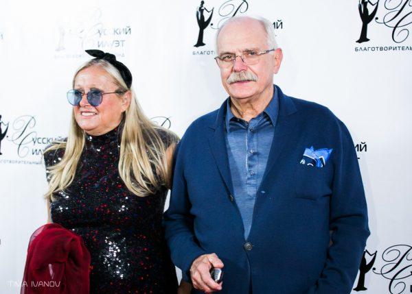 Никита Михалков с женой