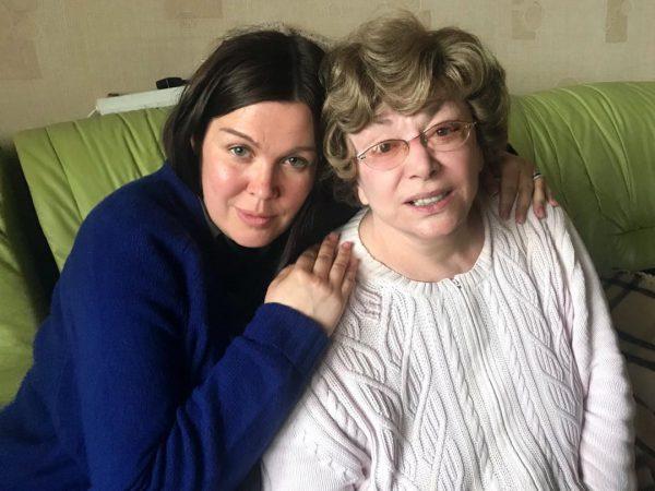Эдита Пьеха с внучкой