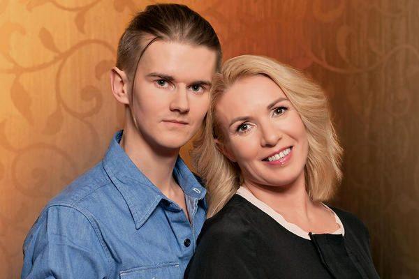 Ирина Лобачева с мужем