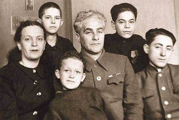 Кобзон семейное фото