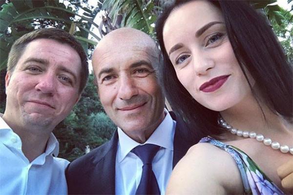 Игорь Крутой семейное фото