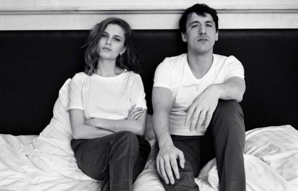 Дарья Мельникова с мужем в постели