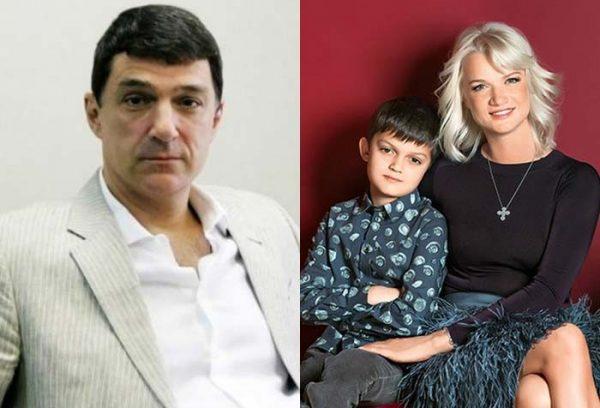 Светлана Хоркина с сыном от Шубского