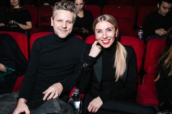 Светлана Бондарчук с мужем