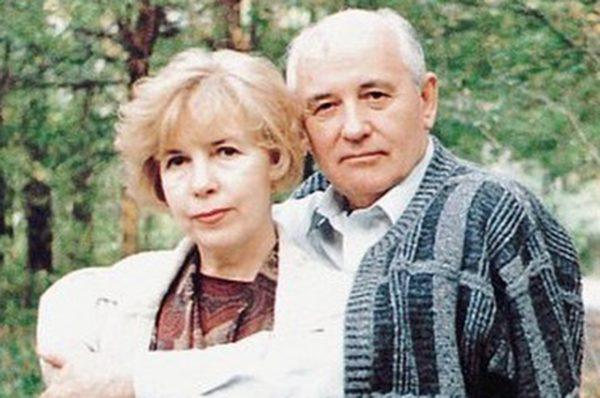 Михаил и Раиса Горбачевы в 1998 году.