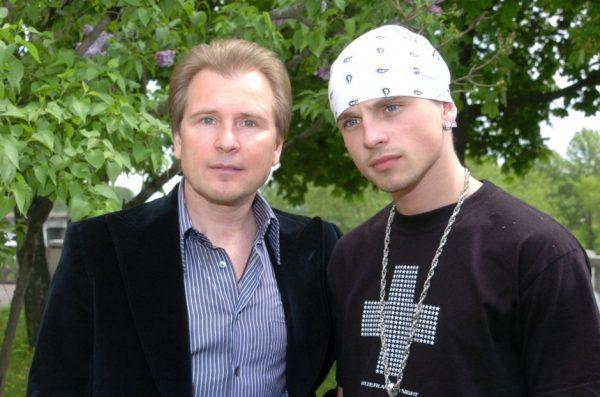 Никита Малинин с отцом