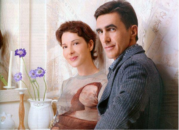 Вячеслав Бутусов с женой
