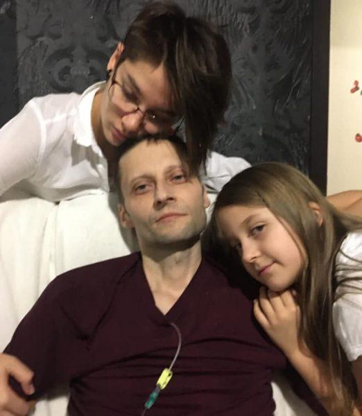 Андрей Павленко с дочками