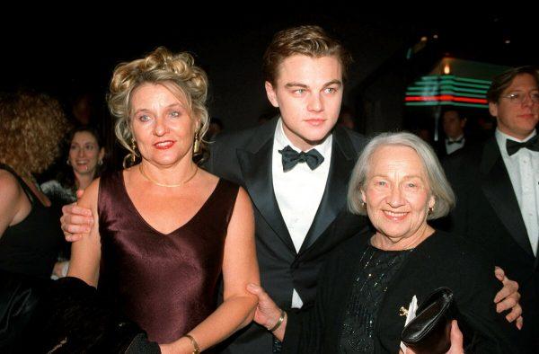 Семейное фото Леонардо Ди Каприо