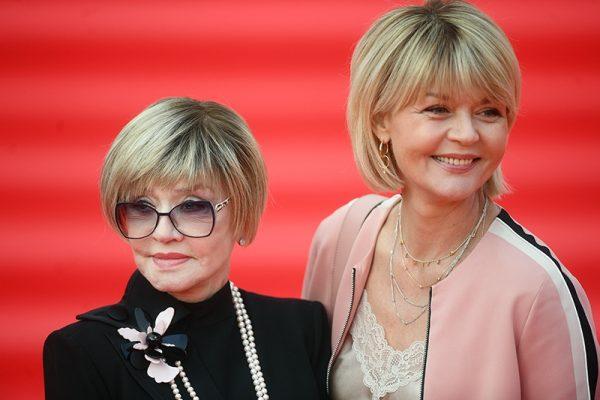 Юлия Меньшова с матерью