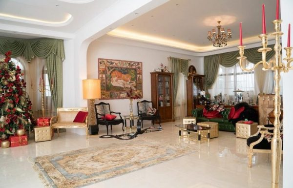 Гостиная в доме Филиппа Киркорова
