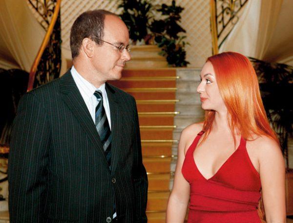Анисина и принц Монако