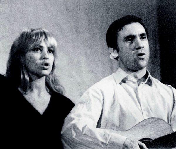 Татьяна Иваненко с Владимиром Высоцким