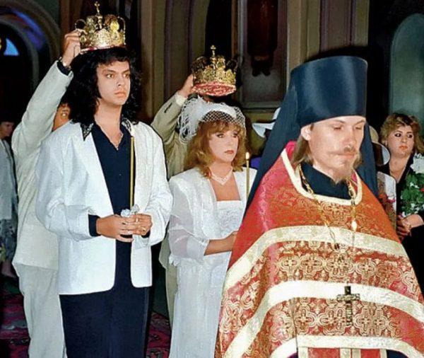 Венчание Киркорова и Пугачёвой в Иерусалиме