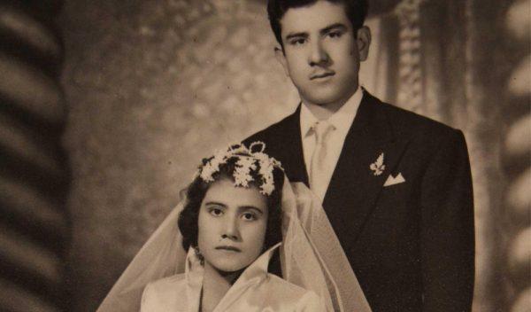 Лина Медина с мужем